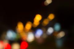 Круги светлого конспекта Стоковые Изображения