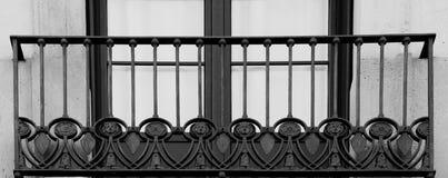 Круги с диаграммами на балконе Стоковое Изображение RF