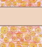 Круги текстуры Стоковая Фотография RF