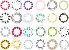 круги цветка Стоковое Изображение