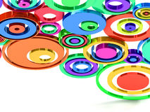 круги Стоковые Изображения RF