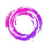 Круглая абстрактная граница также вектор иллюстрации притяжки corel Стоковое Изображение RF