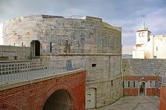 Круглая башня, Портсмут Стоковое Изображение RF