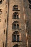 Круглая башня (Rundetarn) в Копенгагене Дании Стоковые Фото