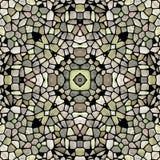 Круглая геометрическая мандала калейдоскопа треугольника бесплатная иллюстрация