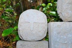 Круглая каменная головка Стоковое Изображение RF