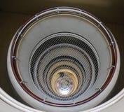 Круглая лестница квартиры стоковые изображения