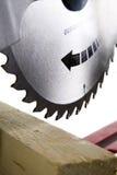 круглая пила лезвия Стоковая Фотография RF