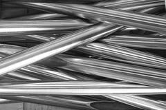 Круглая трубка металла Стоковые Изображения