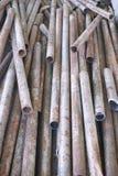 Круглая трубка металла Стоковое Изображение RF
