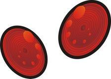 круглая цель Стоковая Фотография RF