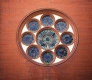 Круглое окно Стоковая Фотография RF
