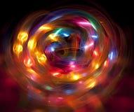 Кругло и кругло Стоковое Изображение