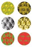 Круглые элементы конструкции Стоковые Изображения