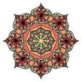 Круглый декоративный элемент орнамента мандала бесплатная иллюстрация