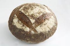 Круглый деревенский хец хлеба стоковое изображение rf