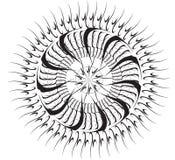 круглый символ Стоковое Изображение RF