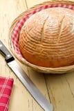 круглый стол кухни хлеба Стоковая Фотография RF