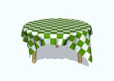 круглый стол иллюстрация вектора