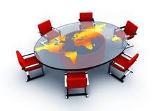 круглый стол Стоковые Изображения RF