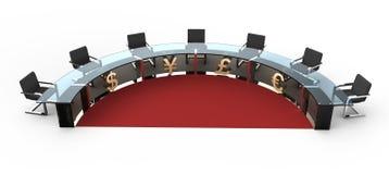 круглый стол Стоковая Фотография RF