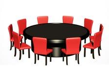 круглый стол Стоковые Изображения