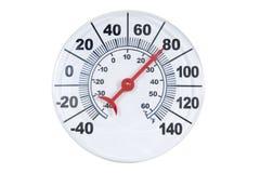 круглый термометр Стоковые Фото