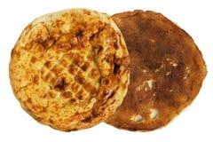 Круглый хлеб питы стоковые изображения
