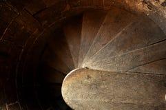 круглый stairway Стоковые Фотографии RF