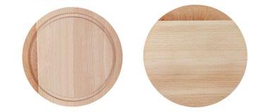 2 круглых деревянных доски Стоковое фото RF