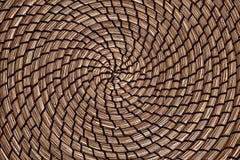 Круговая абстрактная картина на циновке стоковое изображение