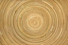 Круговая деревянная картина Стоковые Изображения RF