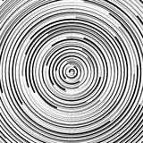 Круговая картина пульсации, концентрические круги, звенит абстрактное geom Стоковые Изображения