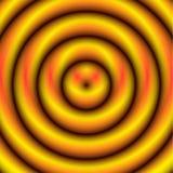 Круговая картина с концентрическими кругами Circ Faded перекрывая иллюстрация штока