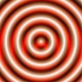 Круговая картина с концентрическими кругами Circ Faded перекрывая иллюстрация вектора