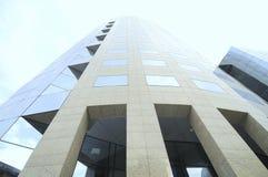круговая корпоративная башня Стоковая Фотография