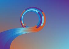круговая форма рамки Стоковые Фотографии RF