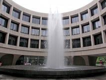 Круговое здание с фонтаном, Вашингтоном, DC Стоковое Изображение