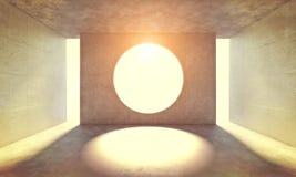 Круговое отверстие в стене бесплатная иллюстрация