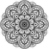 Круговой винтажный орнамент Стоковое Изображение