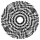 Круговой геометрический мотив, абстрактная мандала, геометрическая форма иллюстрация штока