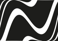 Круговой геометрический мотив Излучать форму Геометрический радиальный элемент Абстрактная черно-белая иллюстрация Стоковая Фотография RF
