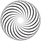Круговой геометрический мотив, элемент, концентрические круги резюмирует s Стоковая Фотография RF