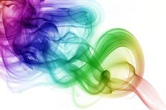 круговой дым Стоковые Фотографии RF