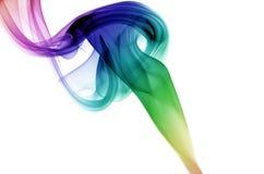 круговой дым Стоковые Изображения