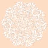 круговой нежный вектор орнамента бесплатная иллюстрация