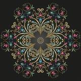 Круговой орнамент Стоковые Фотографии RF