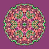 Круговой солнцецвет картины Стоковые Изображения RF