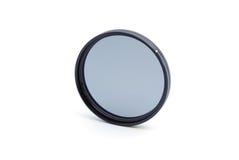 круговой фильтр поляризовывая профессиональную белизну Стоковые Изображения RF
