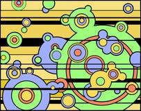 кругово иллюстрация штока